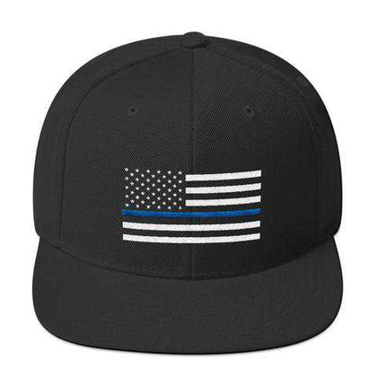 Thin Blue Line Hats/Caps - for Police and Law Enforcement Supporters