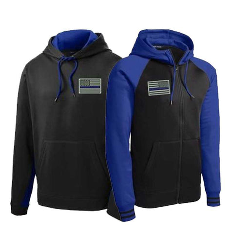 Thin Blue Line Jackets - for Police and Law Enforcement supporters