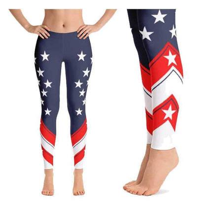 Thin Blue Line Yoga Pants and Leggings - for Police and Law Enforcement supporters