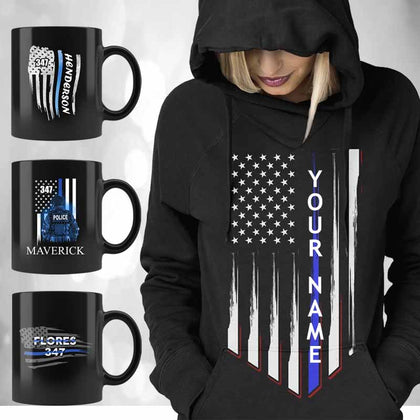 Personalized Thin Blue Line Products
