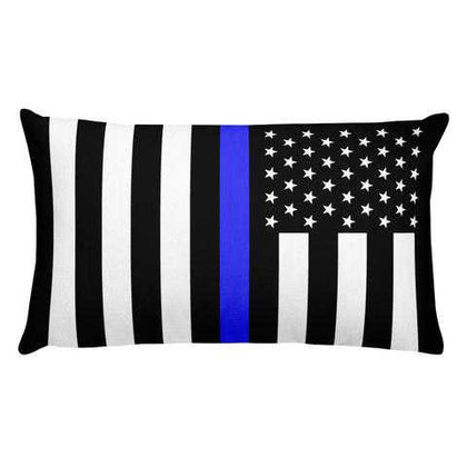 Thin Blue Line Pillows - for Police and Law Enforcement supporters