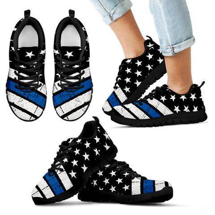 Thin Blue Line Shoes, Sneakers and Boots - for Police and Law Enforcement supporters