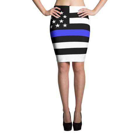 Thin Blue Line Skirts - for Police and Law Enforcement supporters