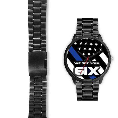 Thin Blue Line Watches - for Police and Law Enforcement Supporters