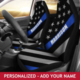 Personalized Car Seat Covers - Flag