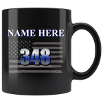 Personalized Mugs - Name and Badge