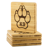 K9 Coasters - Set of 4