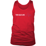 "Thin Blue Line ""Heartbeat"" - Tank top"