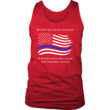 """Blessed are the Peacemakers"" - Tank tops"