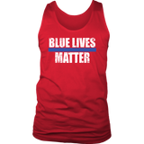 """Blue Lives Matter"" - Tank tops"