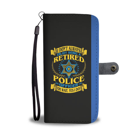 Retired Police Officer - Phone Case Wallet
