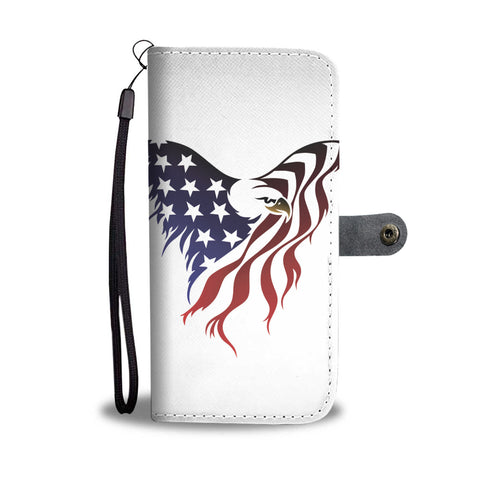 American Eagle Flag - Phone Case Wallet