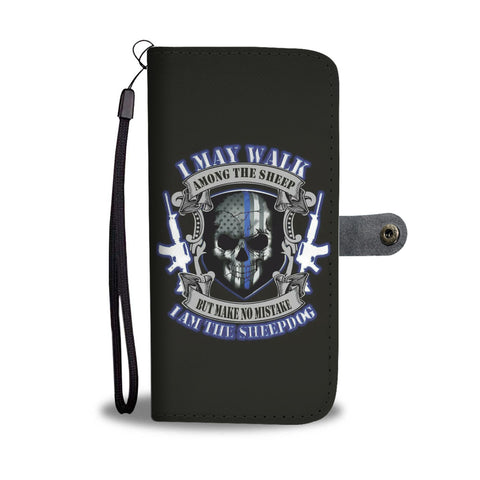 I may walk among the sheep - Phone Case Wallet