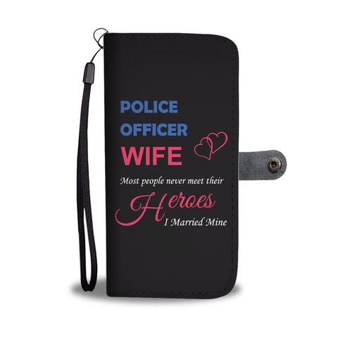 Police Officer Wife - Married My Hero - Phone Case Wallet - 1