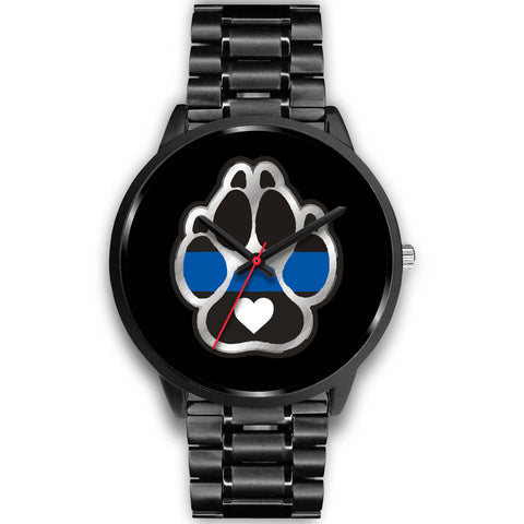 K9 Heart - Thin Blue Line Watch
