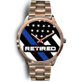 Retired - Thin Blue Line Watch