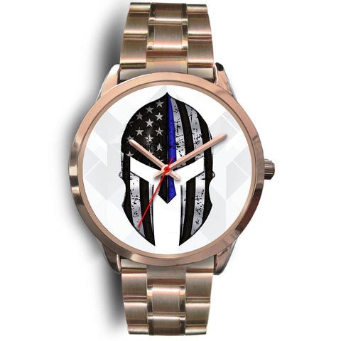 Spartan Helmet - Thin Blue Line Watch