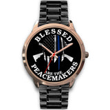 Blessed are the Peacemakers Watch - Gold