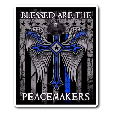 Blessed Are The Peacemakers - Sticker/Decal