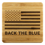 Back the Blue Coasters