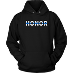 Honor Thin Blue Line Hoodies