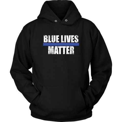 Blue Lives Matter Hoodies