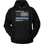 Guardians by choice Heroes by chance Hoodies