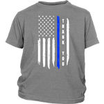 "Youth ""Thank You"" Thin Blue Line Shirt - Kids"