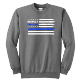 "Youth ""Respect this Line"" Sweatshirt - Kids"
