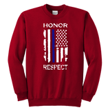 "Youth ""Honor Respect"" Sweatshirt - Kids"