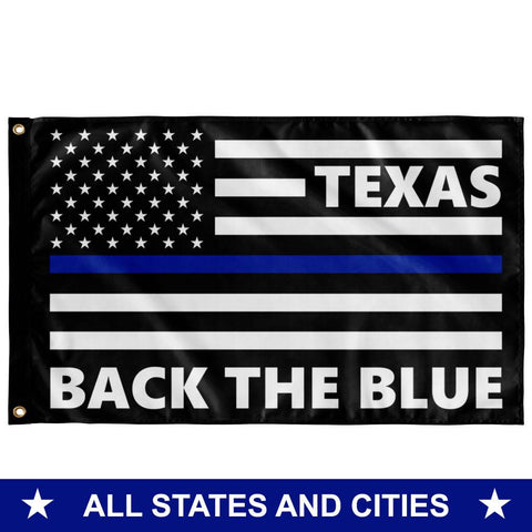 Back the Blue Flag - All States