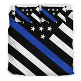 Thin Blue Line Bedding Set - Type 5