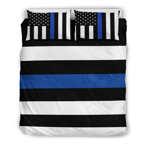 Thin Blue Line Bedding Set - Type 3