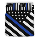 Thin Blue Line Bedding Set - Type 1