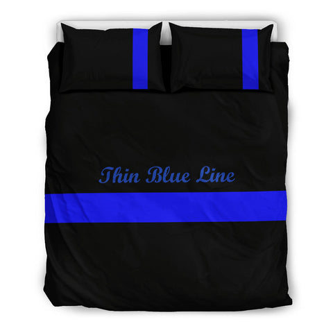 Thin Blue Line Bedding Set - Type 2