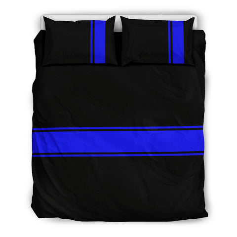 Thin Blue Line Bedding Set - Type 4