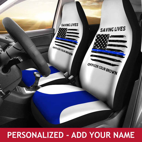 Personalized Seat Covers - Saving Lives 2