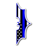 Batman - Thin Blue Line Sticker