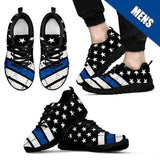 Men's - Thin Blue Line American Flag Sneakers
