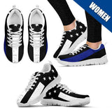 Women's - Thin Blue Line Shoes - Type 3
