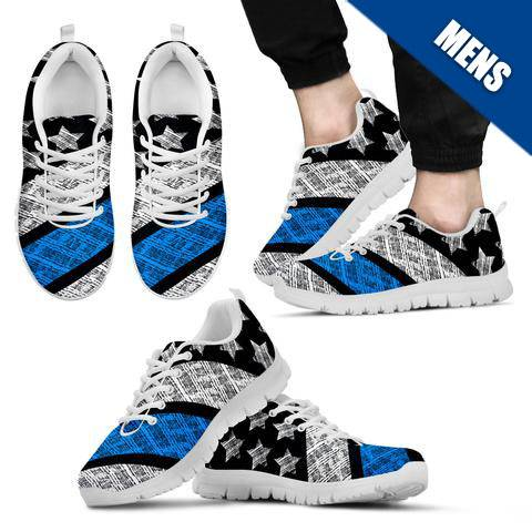 Men's - Thin Blue Line Shoes - Type 4