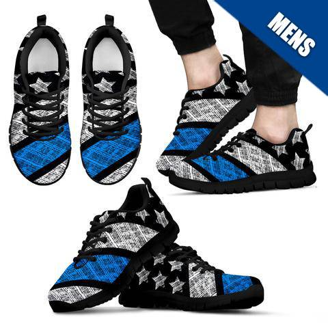Men's - Thin Blue Line Shoes - Type 5