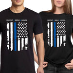 """Protect - Serve - Honor"" - Shirt + Hoodies"