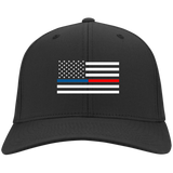 Thin Blue and Red Line Hat/Cap