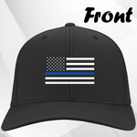 Thin Blue Line Cap w/out Retired Text