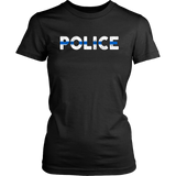 """POLICE"" - Thin Blue Line Shirts"
