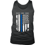 """Protect - Serve - Honor"" - Tank tops"