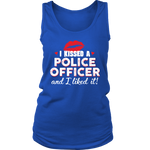 Women's I Kissed A Police Officer - Tank Top - Red lips