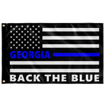 Back the Blue Flag - All 50 States