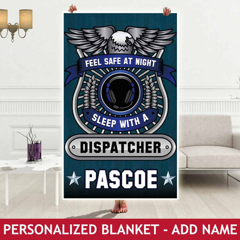 Personalized Blanket - Dispatcher